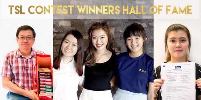 TSL Contest Winners Hall Of Fame