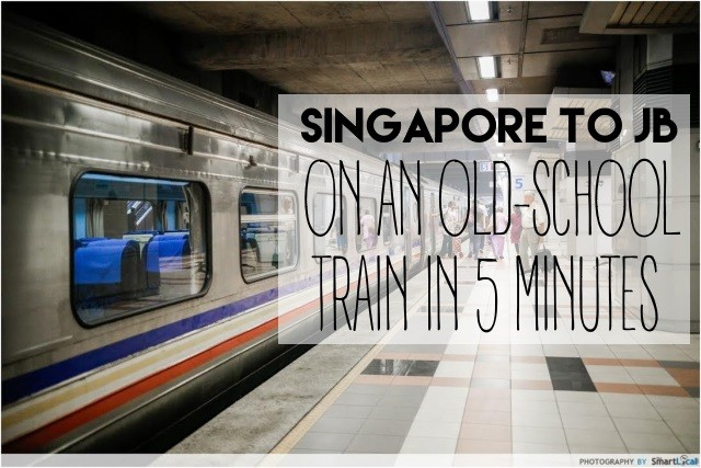 KTM Shuttle Guide: Singapore To JB On An Old-School Train In Just 5 Minutes