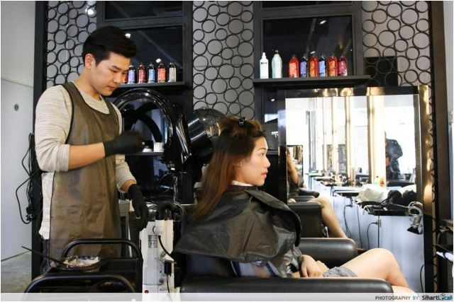 Elle hair salon jb review om hair for Academy for salon professionals reviews