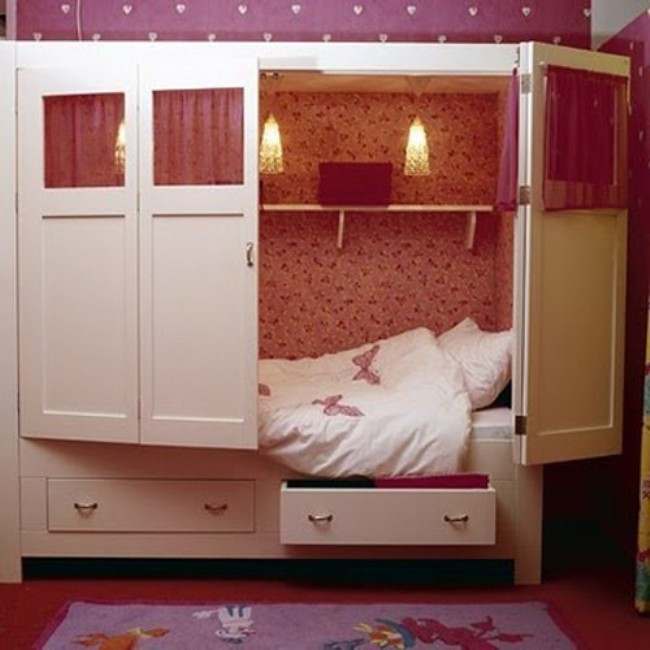 Kids Bedroom Cupboard Designs Bedroom Bed On Floor Bedroom Paint Ideas Purple Unique Bedroom Paint Ideas: 17 Space-Saving Ideas For Your HDB Flat That Will Blow