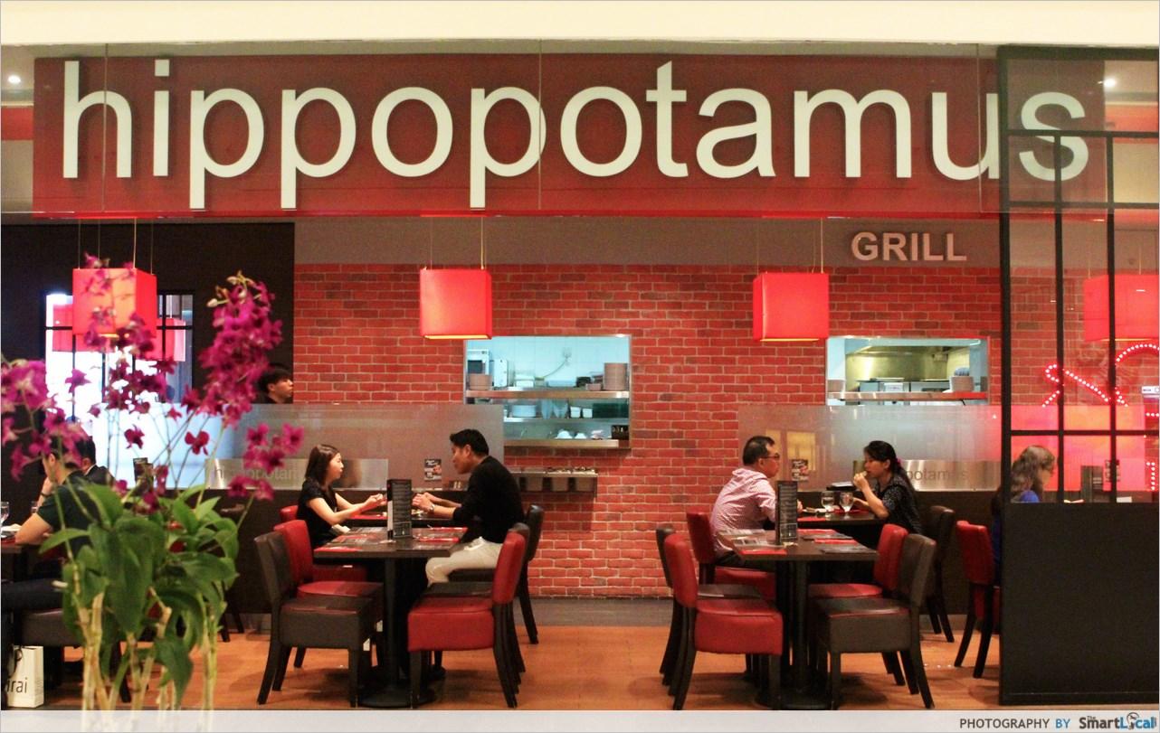 Hippo Restaurant Menu