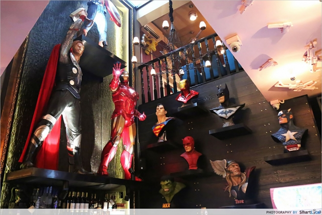 Hungry Heroes Opens - Superhero Themed Restaurant With Lots of Meat