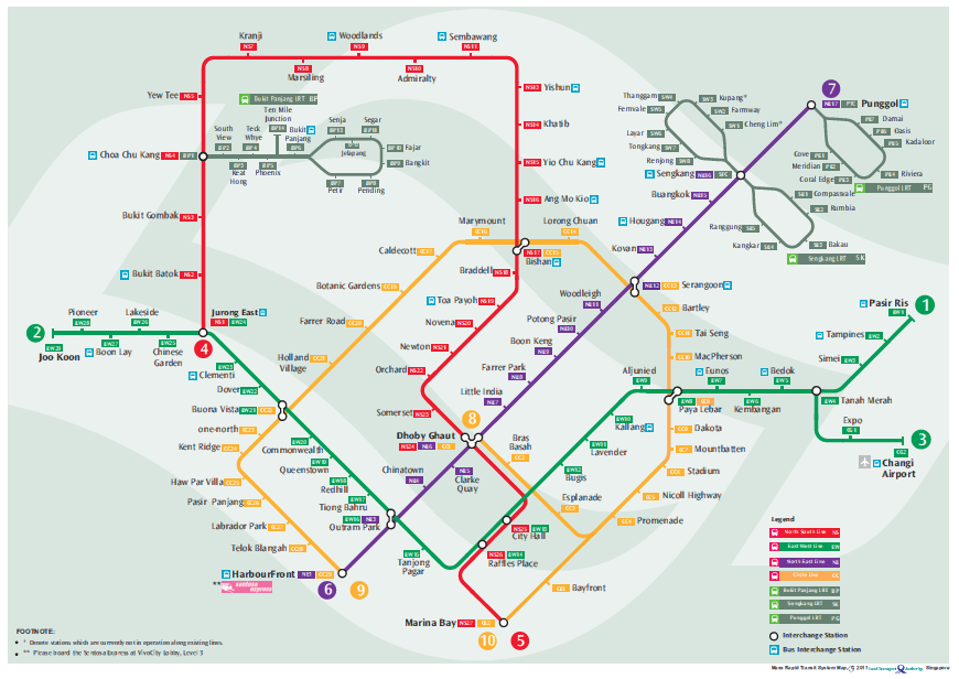 Getting Around Singapore - TheSmartLocal